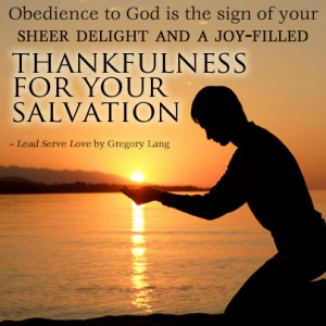 Obedience to God