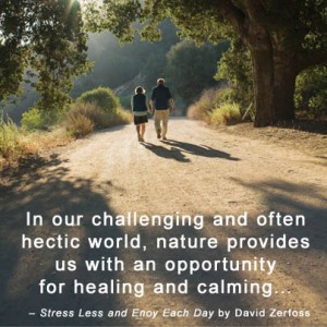 Get Outdoors and Stress Less