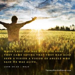 Luke 24:23