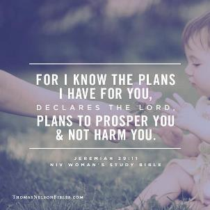 Know the Plans I have for You