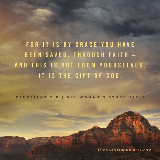 By Grace You Have Been Saved Craft