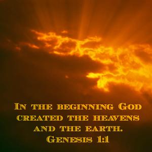 Genesis 1:1 In the Beginning