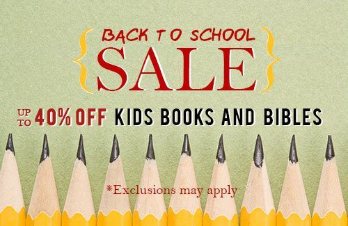 Back To School Sale!  Save 40%!