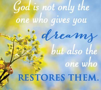 gods dream for you