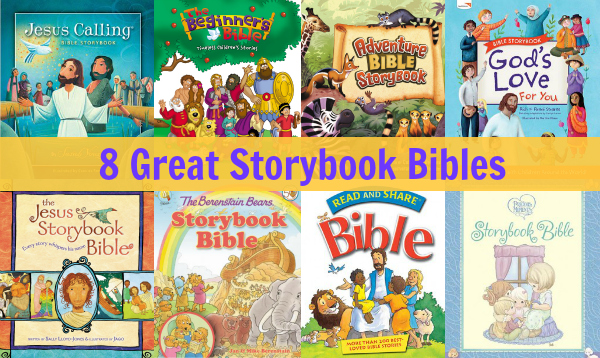 best storybook bibles for children