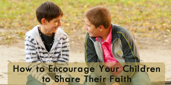 children share faith