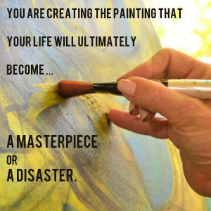 are you creating a masterpiece