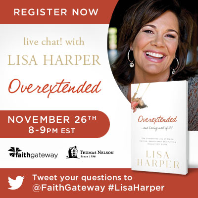 Lisa Harper live chat
