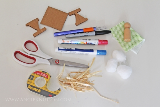 christmas manger craft
