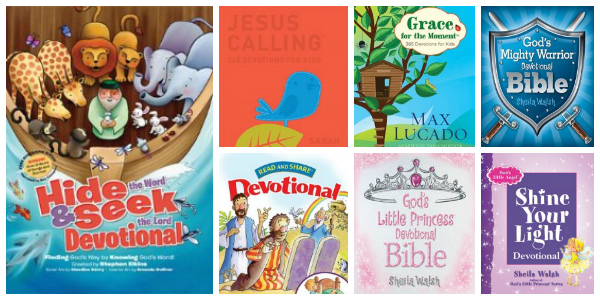 Devotions for Kids Collage
