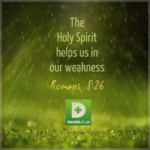 The Daniel Plan Romans 8:26
