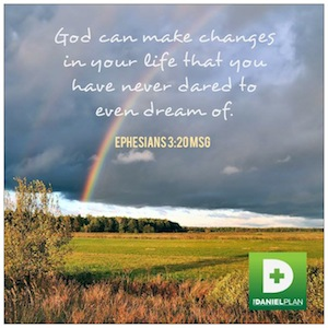 The Daniel Plan God Can Makes Changes
