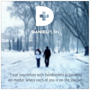 The Daniel Plan humbleness and patience