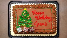 cake happy birthday jesus