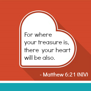 matthew 6-21 for where your treasure
