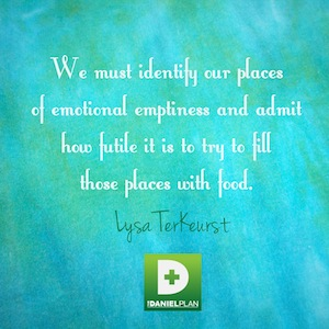 The Daniel Plan Lysa TerKeurst quote