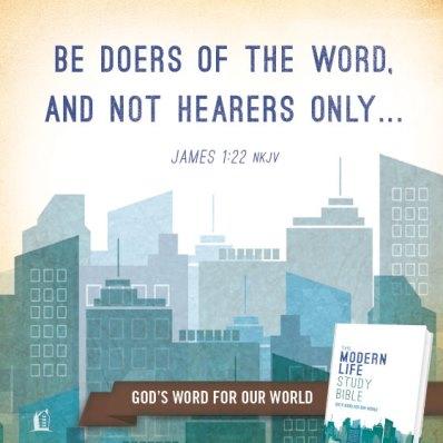 James 1:22 NKJV