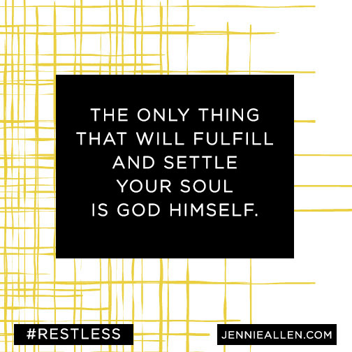 Restless: Because You Were Made For More - FaithGateway
