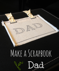 Father's Day Scrapbook craft